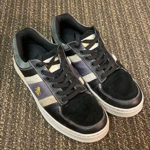 ✅ PENGUIN Genuine Leather & Suede Sneakers Size 9